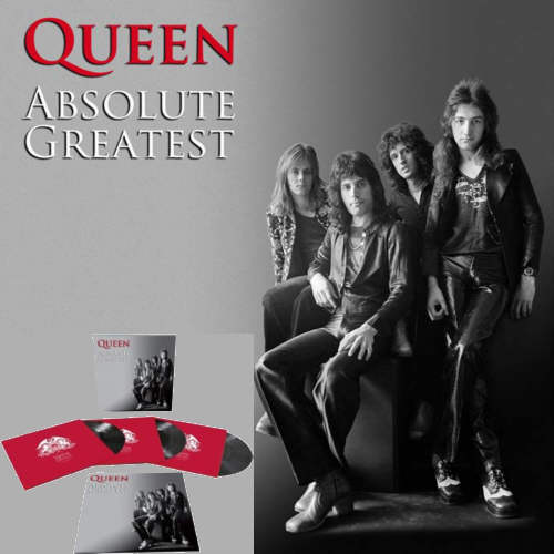 Queen - Absolute Greatest - Triple vinyl Box Set.