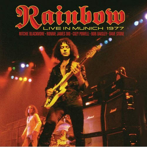 Rainbow (Ritchie Blackmore Ronnie James Dio) - Live in Munich 1977 vinyl LP.